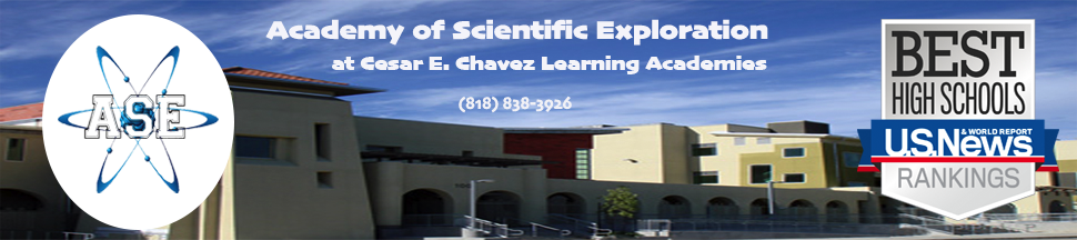 Academy of Scientific Exploration @ Cesar Chavez Learning Academies  Logo